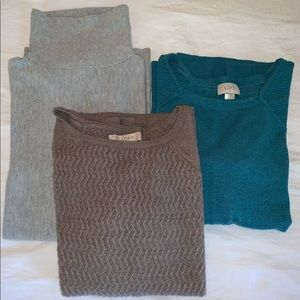 LOFT Sweaters - 3 Sweater Bundle from Ann Taylor Loft Size Small